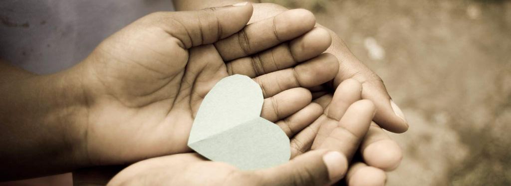 Bewustwording, hart in je hand